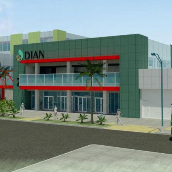 Construcción Laboratorio Nacional de Aduanas de la DIAN