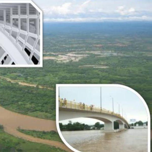 CONSTRUCCIÓN DEL PUENTE SOBRE EL RIO NECHI