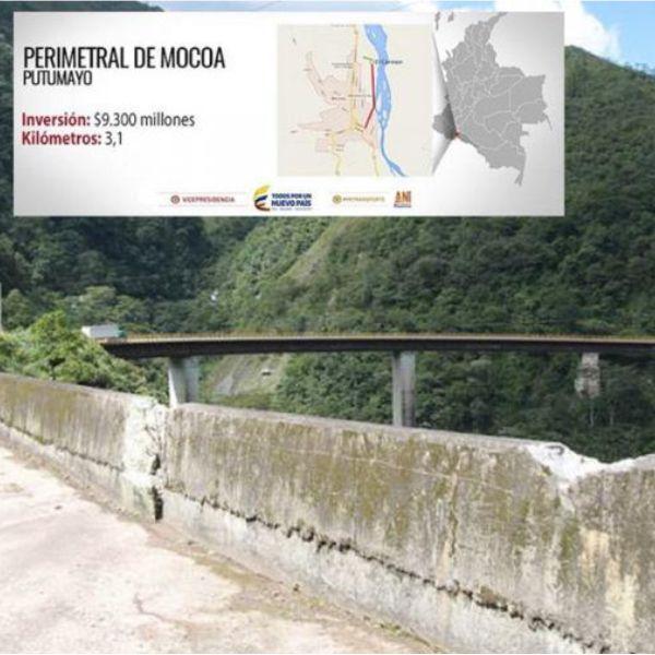 Via Perimetral Mocoa