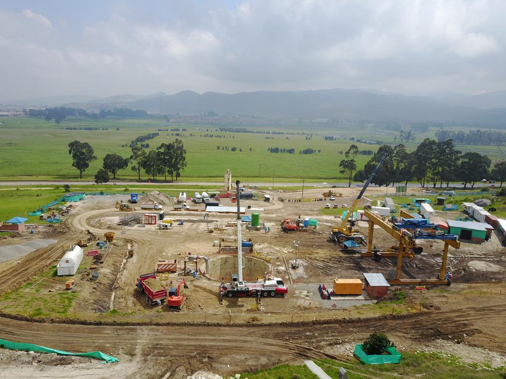 Construcción Vías Colombia